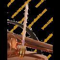 1,25 L Premium Destillierutensil (Thermometer, elektrische Platte)
