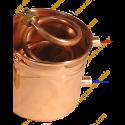 1,25 L Appareil de Distillation Premium (plaque-tampon, thermomètre, plaque électrique)
