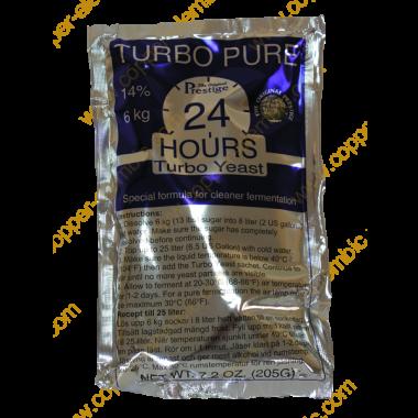 Turbo Pure 24 Stunden Hefe 14%