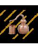 5 L Destillierkolben