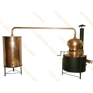 90 L State of the Art Copper Alembic Still Deluxe