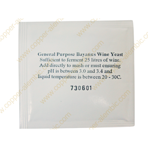 General Bayanus Wine Yeast