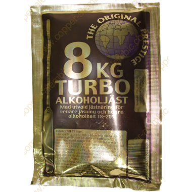 Prestige 8 kg Turbo Yeast