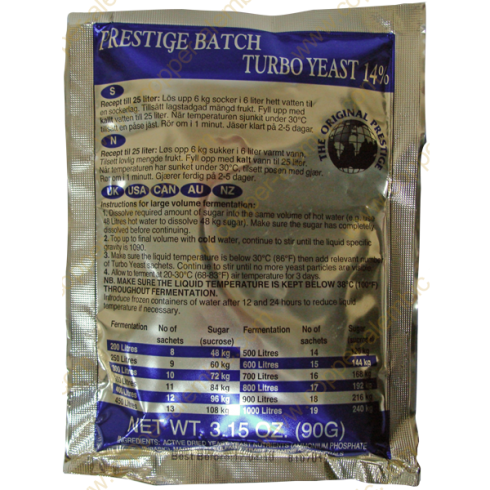 Prestige Batch Turbo 14%