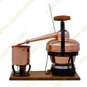1,25 L Aparato de Destilación Premium (termómetro, placa eléctrica)