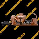 6 L Premium Destillierkolben mit Säule (elektrische Platte)