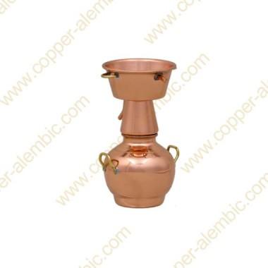 Mini Alquitar Still Aus Kupfer (ohne Basis)