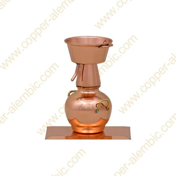 Miniature Copper Alquitar & Base
