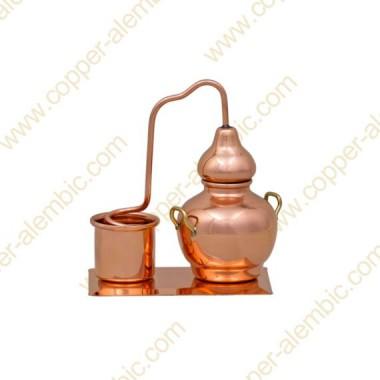 Miniature Copper Alembic & Base