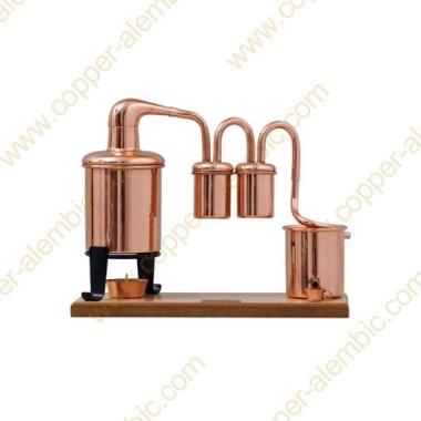 0,7 L Destillierkolben (Typ Rum, Holzbasis)