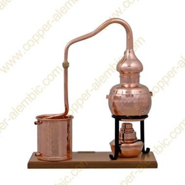 0,7 L Alembic Set Premium, Thermometer & Alcohol Burner