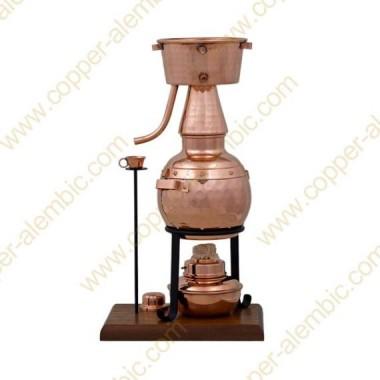 0,7 L Alquitar Premium, Thermometer & Alcohol Burner