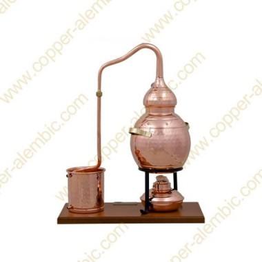 2,5 L Alambic Premium, Thermomètre et Lampe à Alcool