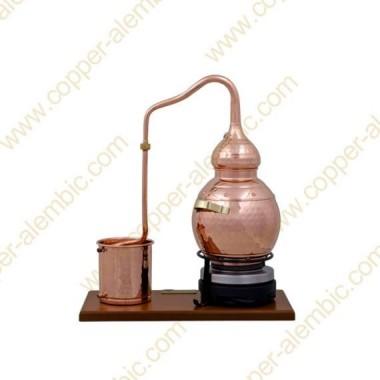 2,5 L Premium Destillierkolben (Thermometer, elektrische Platte)
