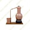 2,5 L Alambic à Colonne Premium, Thermomètre et Plaque Électrique