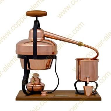 1,25 L Aparato de Destilación y Lamparita