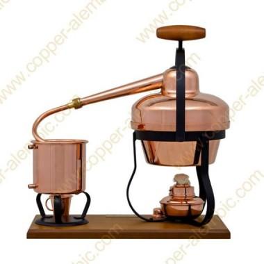 1,25 L Destillierutensil (Alkohol-Lampe)