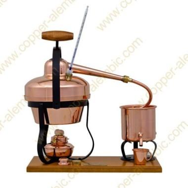 1,25 L Distilling Appliance, Thermometer & Alcohol Burner