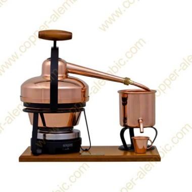 1,25 L Utensílio Destilação Premium e Placa Eléctrica