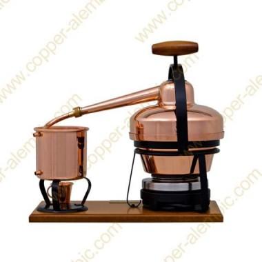 1,25 L Appareil Distillation Premium et Plaque Électrique
