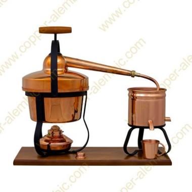 2,75 L Aparato de Destilación y Lamparita