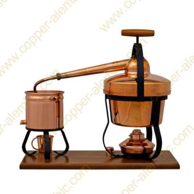 2,75 L Appareil Distillation et Lampe à Alcool