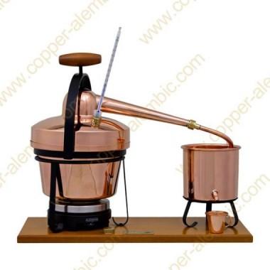 2,75 L Utensílio Destilação Premium, Termómetro e Placa Eléctrica
