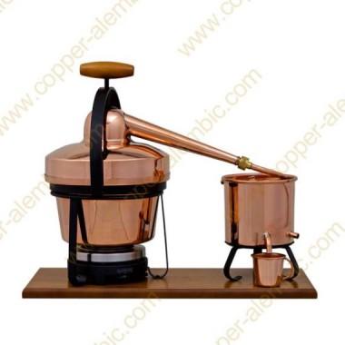 2,75 L Utensílio Destilação Premium e Placa Eléctrica