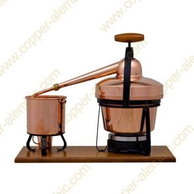 2,75 Aparato de Destilación Premium y Placa Eléctrica