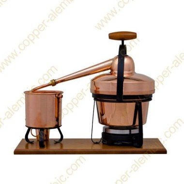 2,75 L Premium Destillierutensil (elektrische Platte)