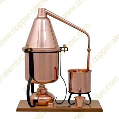 2,5 L Premium Destillierutensil (Alkohol-Lampe)