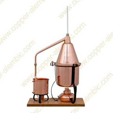 2,5 L Aparelho Destilação, Termómetro e Lamparina