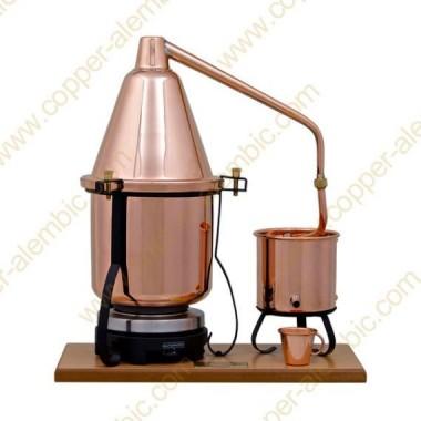 2,5 L Aparato de Destilación Premium y Placa Eléctrica