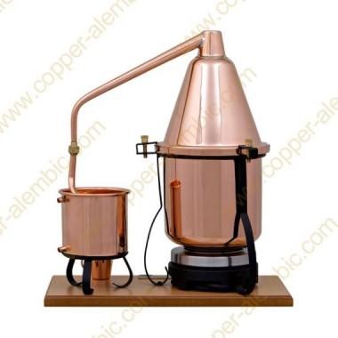 2,5 L Premium Destillierutensil (elektrische Platte)