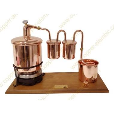 2,5 L Premium Destillierkolben Rum (Thermometer, Elektrische Platte)