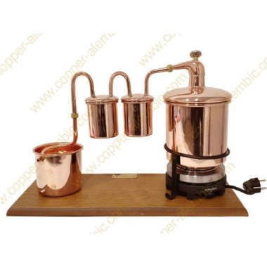 2,5 L Rum Alembic Still Premium, Thermometer & Electric Plate
