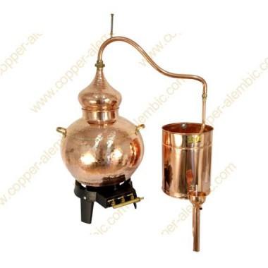 Kit Iniciação ao Gin 40 L Alambique de Cobre Soldado Premium