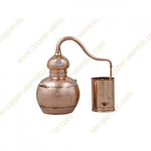 5 L Alambique de Cobre Kit Whisky
