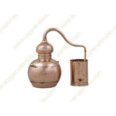 10 L Alambic en Cuivre Kit Distillation Whisky & Rhum