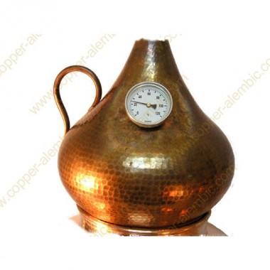 30 L Alambic en Cuivre Kit Distillation Whisky & Rhum
