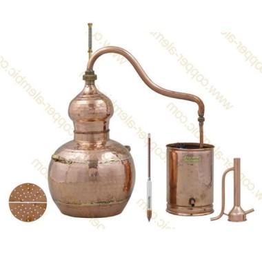 5 L Alambic en Cuivre Kit Distillation Spiritueux