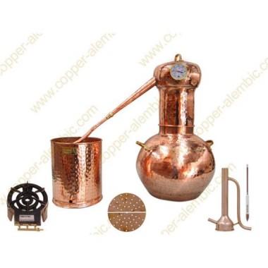 30 L Alambic en Cuivre Kit Prime Alchimiste