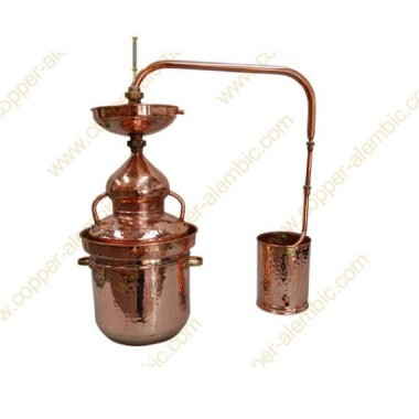 15 L Destillierkolben Wasserdichtsystem Selbermachen Prime