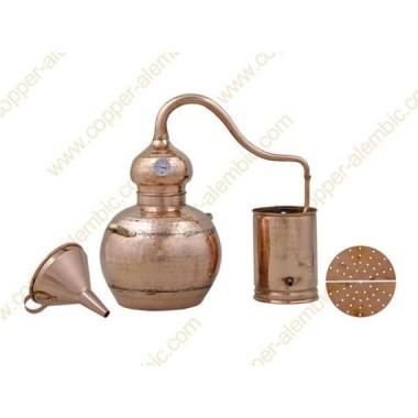 30 L Hydrosol Copper Alembic Still Kit