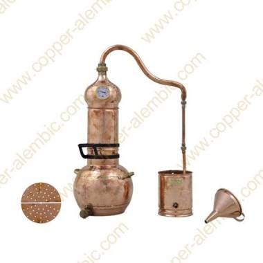 5 L Alambique de Cobre Kit Prime Aceite Esencial