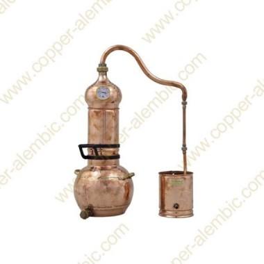 10 L Essential Oil Copper Alembic Still Prime Kit
