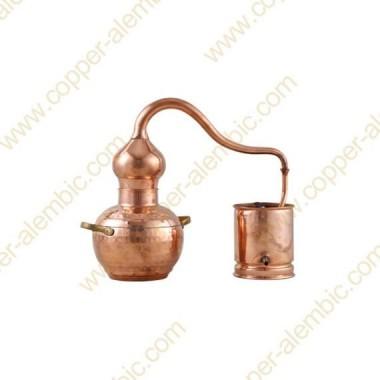1 L Soldered Copper Moonshine Alembic Still