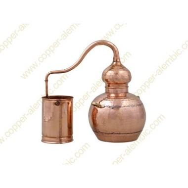10 L Soldered Copper Moonshine Alembic Still