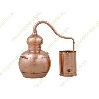20 L Kupfer-Destillierkolben mit Schweissverbindungen