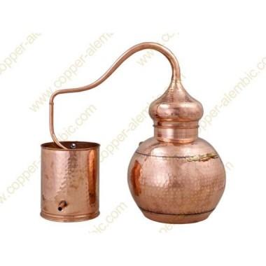 30 L Kupfer-Destillierkolben mit Schweissverbindungen